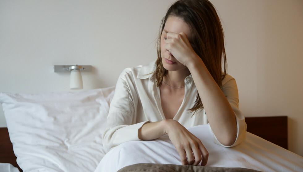 OM MORGENEN: De som gnisser tenner om natten våkner ofte med øm kjeve eller hodepine. FOTO: NTB Scanpix