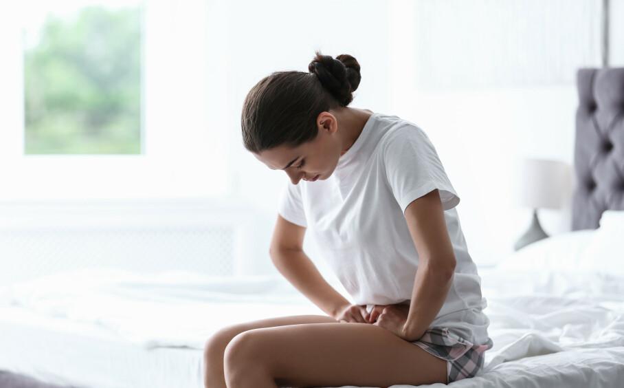 PMS: For mange er tiden før og under menstruasjon en evig kamp. FOTO. NTB Scanpix