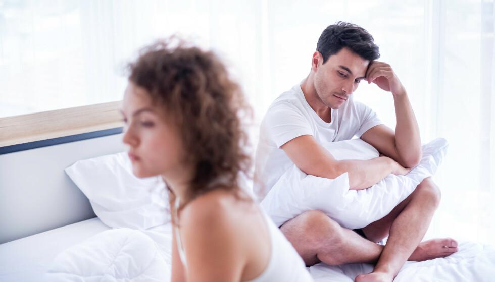 PARFORHOLD: For mange kan PMS-perioden være tøff- for begge parter. FOTO: NTB Scanpix