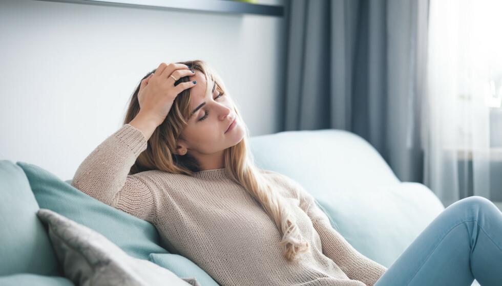 HUMØRSVINGNINGER: Fordi p-piller påvirker hormonbalansen i kroppen, vil både p-pillestart og p-pilleslutt kunne gi humørsvingninger. FOTO: NTB Scanpix
