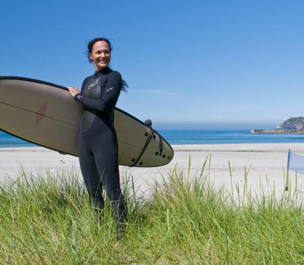 Store bølger, mye vind. Stadlandet er perfekt for surfing. Foto: Visit Norway