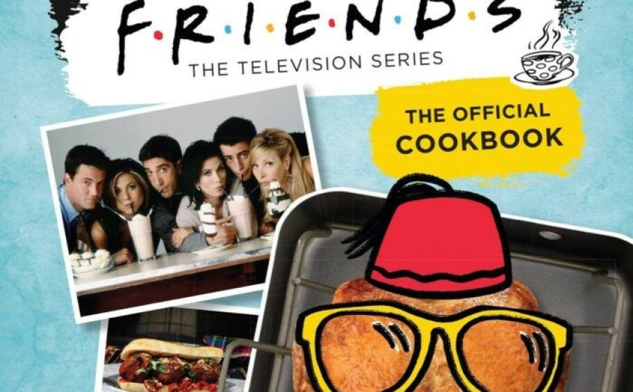 FRIENDS-KOKEBOK: Hvilken oppskrift fra serien ville du helst laget? Foto: Amazon