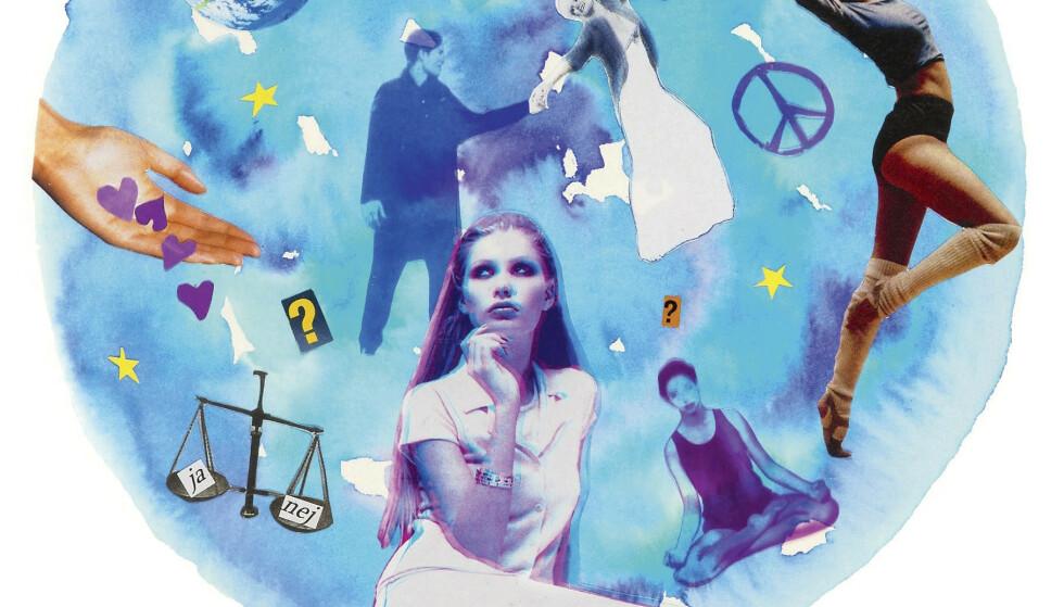 HOROSKOP: Kjenner du deg igjen i stjernetegnet ditt? ILLUSTRASJON: Anna Adelback-Houplain