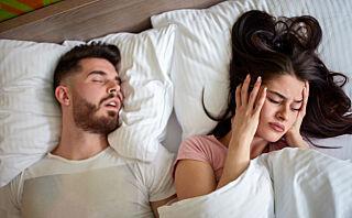 Det er faktisk mulig å trene seg til å snorke mindre
