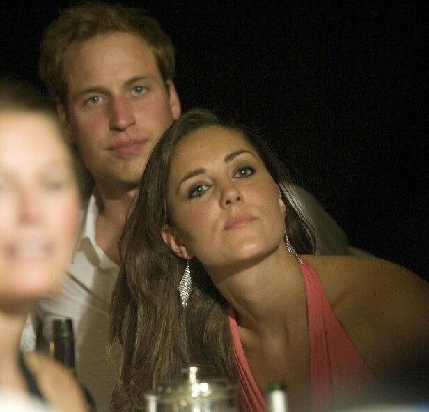 2008: Prins William and Kate Middleton watching the boxing The Boodles Boxing Ball, in aid of Starlight Children's Foundation, Royal Lancaster Hotel, London, Britain - 07 Jun 2008