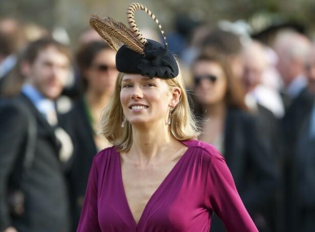 EKSEN: Prins Williams eks Davina Duckworth-Chad. Hun er for øvrig en fjern slektning av William på moren Dianas side. FOTO: NTB scanpix