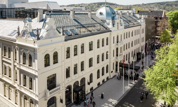 NYOPPUSSET: Ærverdige Britannia i Trondheim har gjennomgått en imponerende renovering. Foto: WiLee Wright