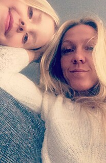 NÆRT FORHOLD: Monica med datteren Nanna. FOTO: Privat