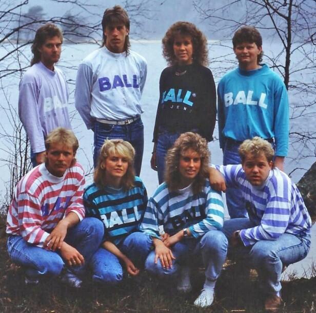 <strong>POPULÆRT PÅ 80-TALLET:</strong> Merket Ball har delt dette bildet på nettsiden deres. På 80-tallet solgte de 500 000 gensere bare i Skandinavia. Foto: Ball