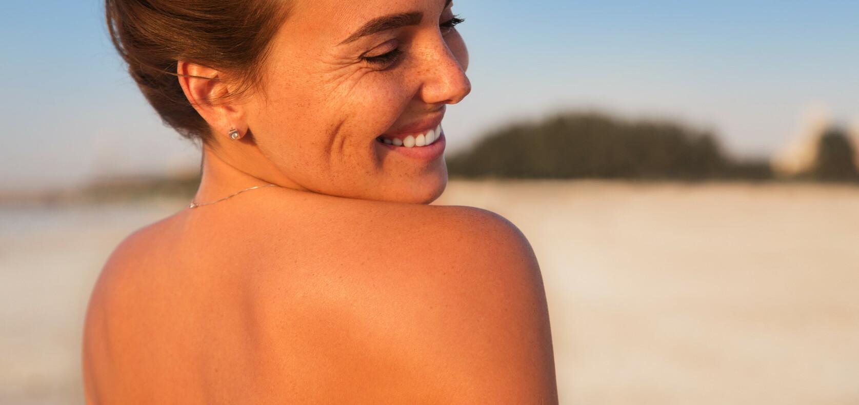 Slik blir du brun raskt– uten å skade huden