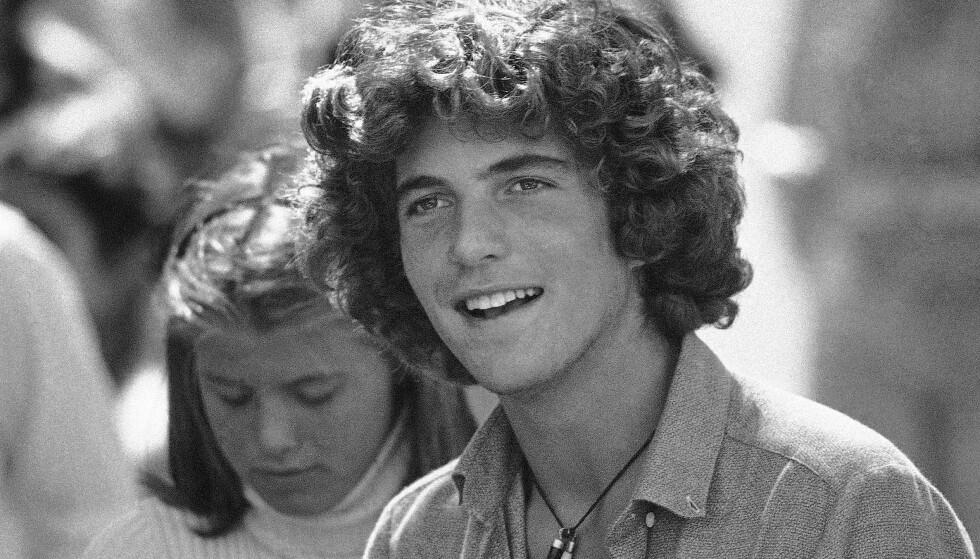 <strong>ETTERTRAKTET UNGKAR:</strong> Student John F. Kennedy Jr. på Brown University i 1979. Da er han 19 år. Kjekkasen var en populær kar blant damene. FOTO: NTB scanpix