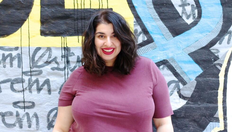 – RASISME LÆRES: Nastaran Marie Kowkabi mener vi må være bevisste på hva vi lærer bort, hva vi snakker om og ikke minst hvordan vi snakker om folk. Foto: Nathalie Brandal Ekornes
