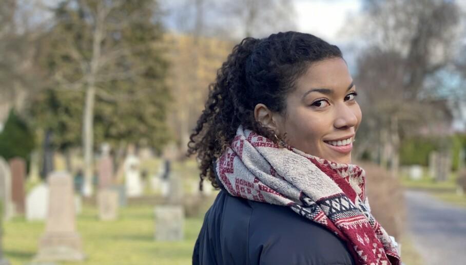 <strong>ANTIRASISME:</strong> - Da jeg var lita var det ikke alltid jeg skjønte at det var rasisme jeg møtte, sier NRK-profil Sissel-Alice Refsdal til KK. FOTO: Per Elling Sylte