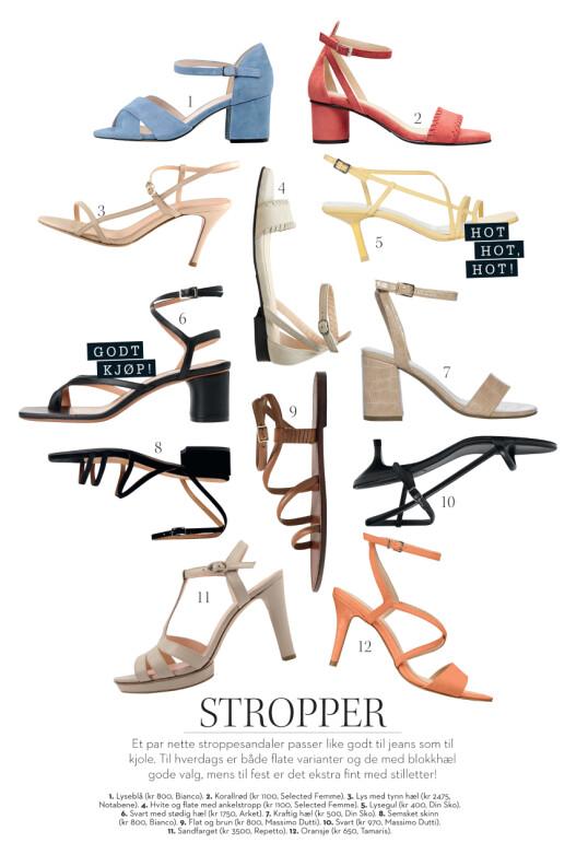 Sandaler for enhver smak