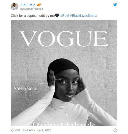 Oslo-student har skapt viral Vogue-trend