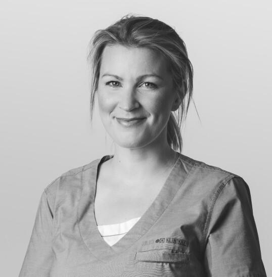 HUDEKSPERT: Anne Birgitte Nordal er hudlege ved Hudklinikken. FOTO: Hudklinikken/privat