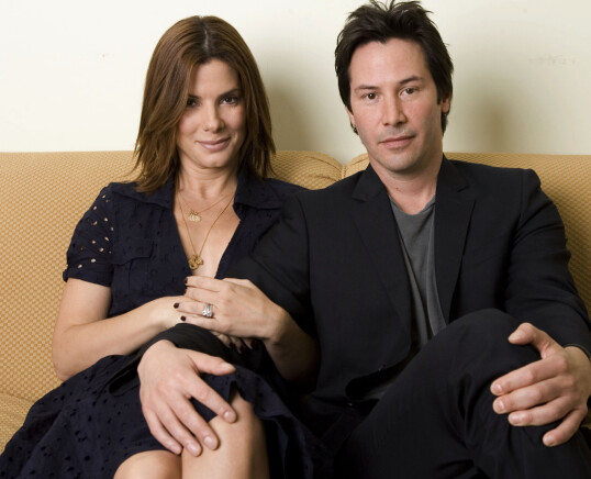 GJENSYN: 12 år etter at de hete følelsene oppsto, spilte Sandra og Keanu sammen i «The Lake House». FOTO: NTB Scanpix