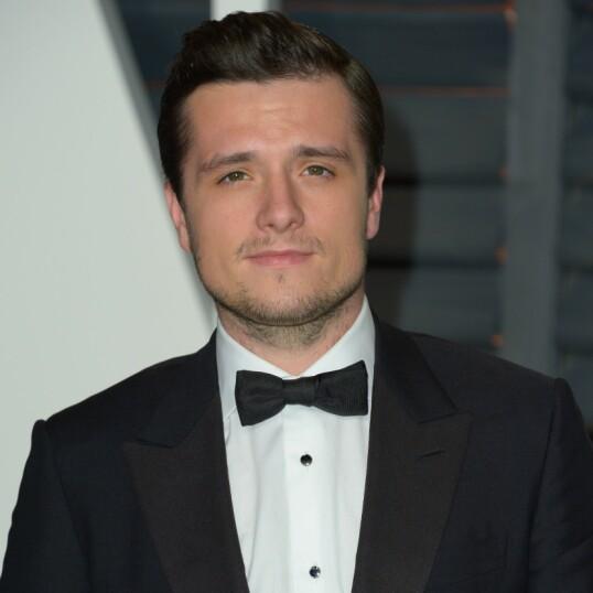 <strong>FORELSKET:</strong> Skuespiller Josh Hutcherson på Oscars i 2015. To år tidligere røpet han sine følelser for Emma Watson. FOTO: NTBScanpix