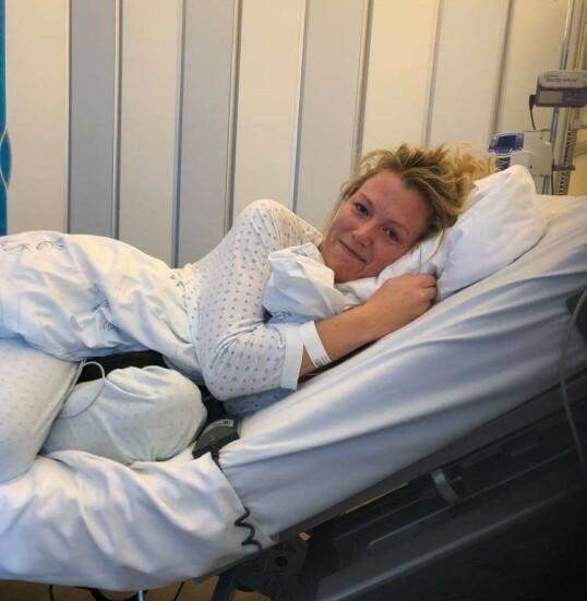 SLAGRAMMET: – Jeg følte meg egentlig ganske dum, fordi jeg, som sykepleier, ikke hadde tatt signalene på alvor med en gang. FOTO: Privat