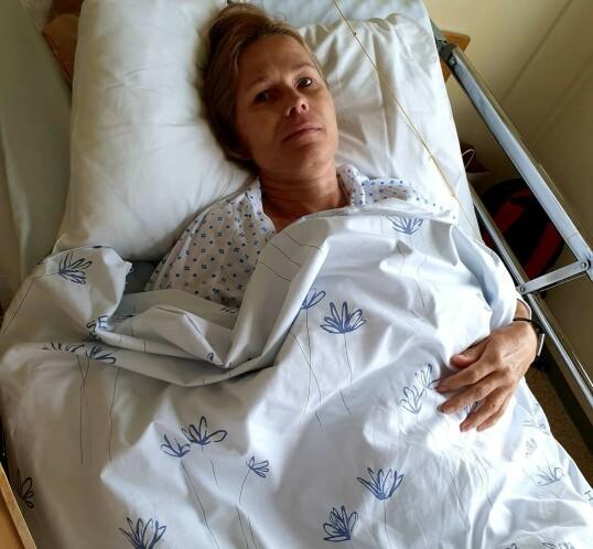 KREFTFOREBYGGING: Etter at Veronika fjernet eggstokkene, ble hun kastet inn i et hormonkaos. FOTO: Privat