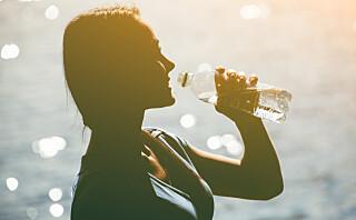 Tegnene på at du har drukket for lite vann