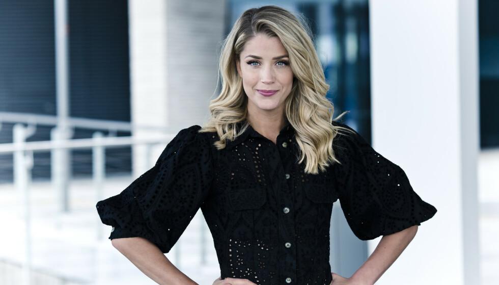 <strong>EKSKLUSIVT BYTTE:</strong> KKs frisørekspert Cecilie Krogh fikk et uventet tilbud da frisørene holdt stengt under korona. FOTO: Astrid Waller