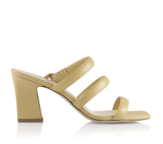Sandaler med hæl (kr 2850,  Notabene).