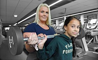 Linnéa (12) har personlig trener