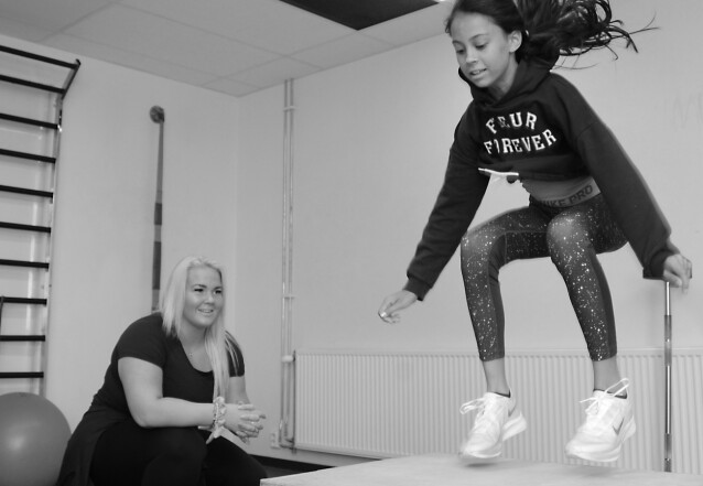 ALLSIDIG: Å trene variert er helt essensielt for barn. FOTO: Marianne Otterdahl-Jensen