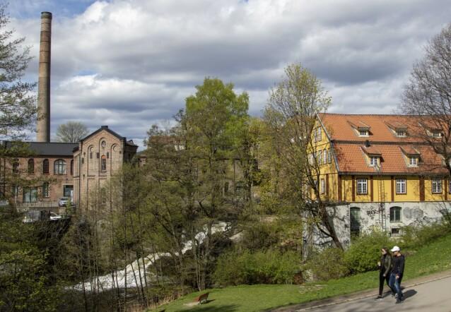 INDUSTRIHISTORIE: Akerselva ga kraft til sagbruk, tekstilfabrikker og mekaniske verksteder under industrialiseringen i siste halvdel av 1800-tallet. Nå er den et flott utgangspunkt for en historisk gåtur. FOTO: Erik Valebrokk