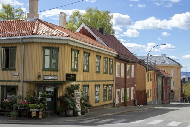 TREHUS: Kampen er Oslos gamle arbeiderstrøk. FOTO: Erik Valebrokk