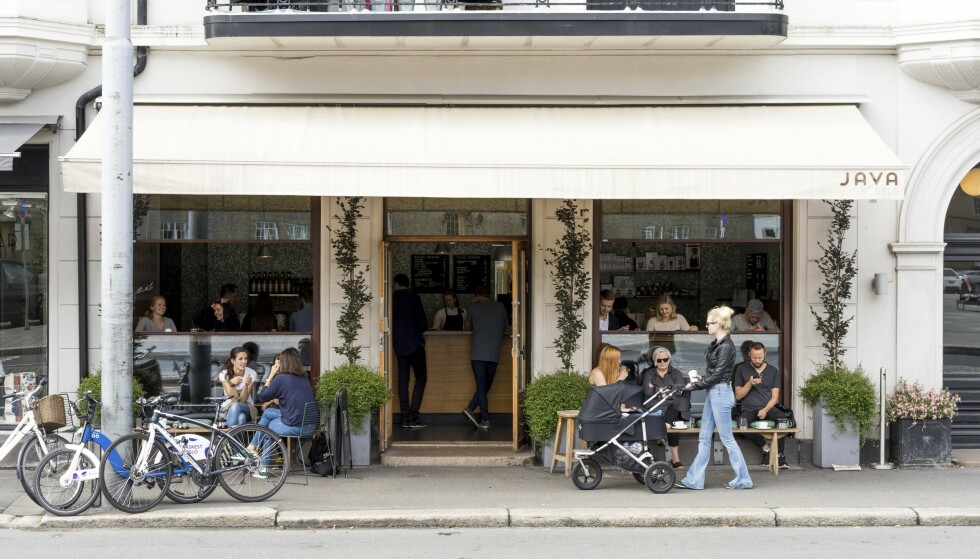 KOFFEIN-KICK: St. Hanshaugen byr på en rekke koselige kaffebarer. FOTO: Visit Oslo/Anders Husa