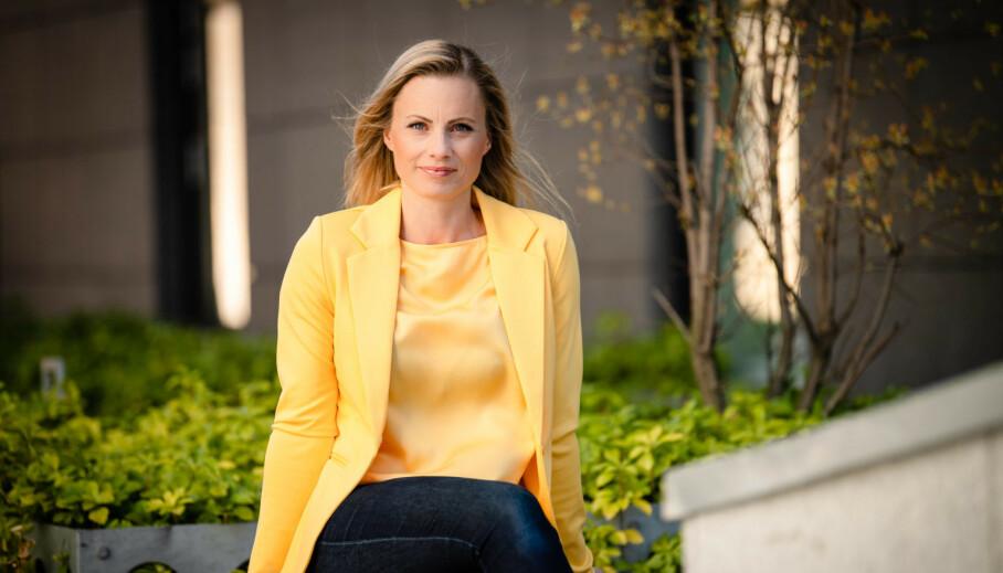 RETTFERDIG PARØKONOMI: Silje Sandmæl er forbrukerøkonom og kjent fra blant annet luksusfellen på TV3. I podkasten «Pengetabu» tar hun opp blant annet økonomisk likestilling i parforholdet. FOTO: DNB