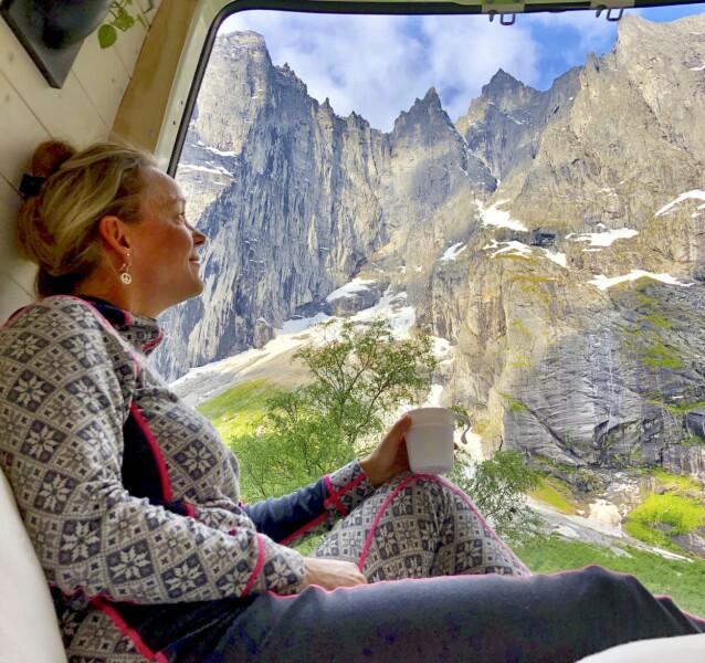 <strong>CAMP (NESTEN) HVOR DU VIL:</strong> I Norge er det allemannsretten som gjelder de aller fleste steder. Les deg opp på forhånd om hvilke regler som gjelder. FOTO: Ronny Frimann