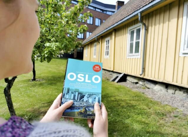 <strong>BYVANDLING:</strong> Få tak i nærmeste gratis turistkart og gå på sightseeing i en av Norges byer. FOTO: Mari Beraksten