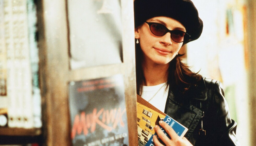 I SENTRUM: Julia Roberts spilte én av filmens to, sjarmerende hovedroller. FOTO: Scanpix