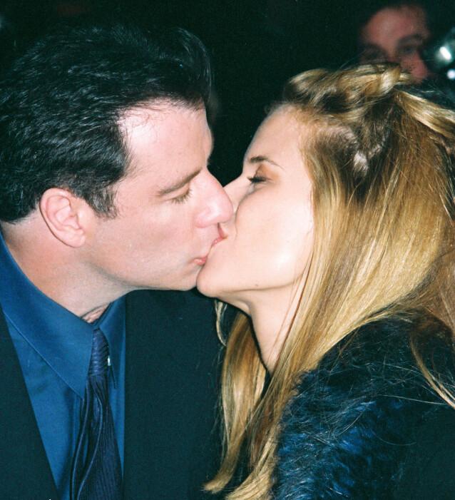 GIFT OG BARN: John Travolta og Kelly Preston har vært gift siden 1991. Sammen har de datteren Ella Travolta (20), Benjamin (9) og deres sønn Jett, som døde i 2009 av et anfall på familieferie. FOTO: NTB Scanpix