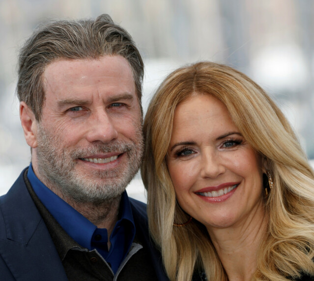 <strong>GIFT I 29 ÅR:</strong> John Travolta og Kelly Preston. FOTO: NTB SCANPIX