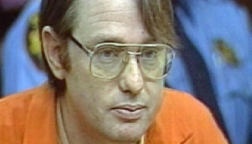 MONSTER: Cameron Hooker avbildet under rettsaken mot ham i 1985. FOTO: Twitter