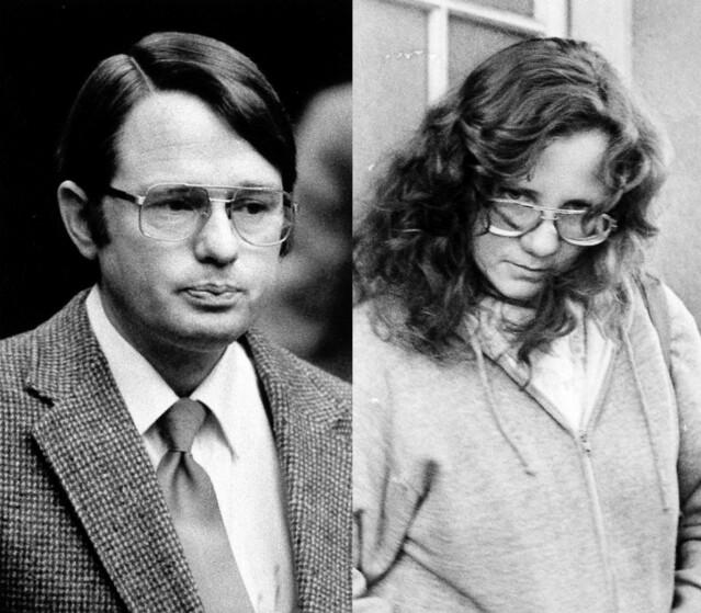 SYV ÅR I HELVETE: Cameron Hooker og Janice Hooker kidnappet Colleen i 1977. Hun ble daglig torturert og voldtatt av førstnevnte i syv år. FOTO: Scanpix og Twitter