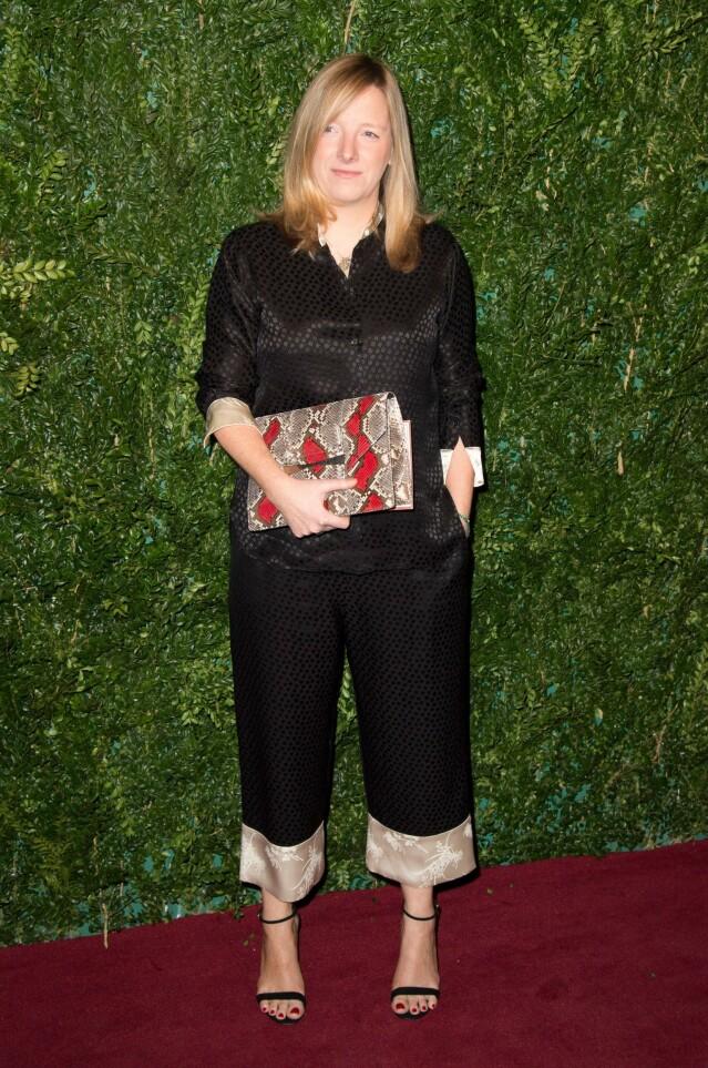 SARAH BURTON: Designeren lager klær for merket Alexander McQueen. Foto: NTB
