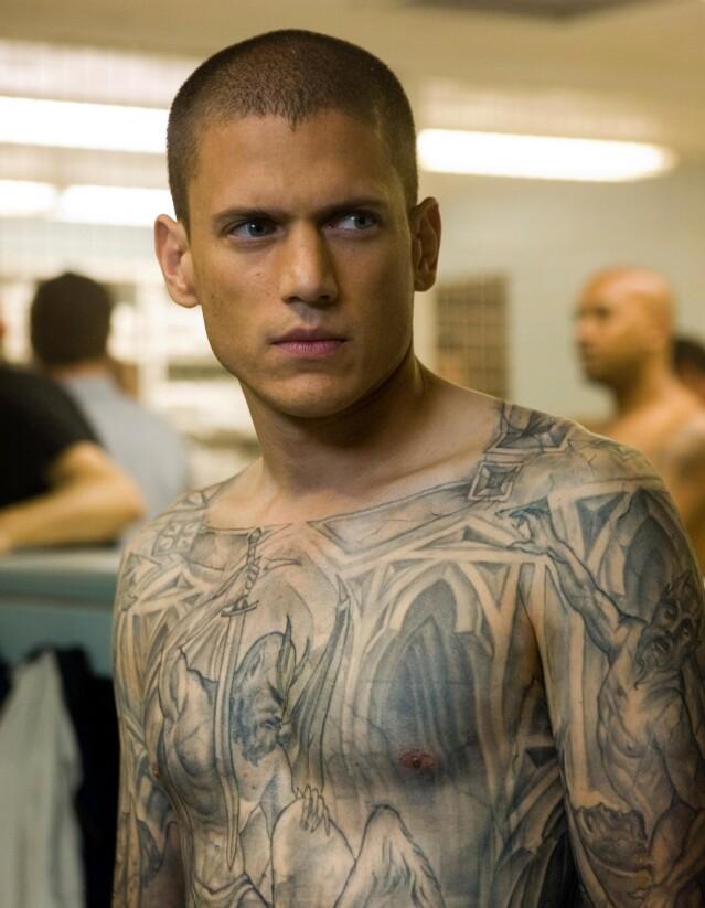 COMEBACK: Åtte år etter at seerne hadde tatt farvel med «Prison Break», dukket Wentworth Miller (48) igjen opp i rollen som geniet Michael Scofield i nye episoder. FOTO: Scanpix