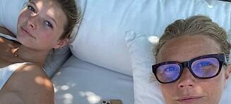 Gwyneth Paltrow delte bilde av datteren: - Kunne vært tvillinger!