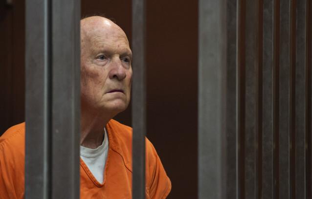 <strong>SLIPPER ALDRI UT:</strong> Sommeren 2020 erkjente Joseph DeAngelo at han hadde drept 13 mennesker, og erkjente samtidig flere voldtekter og innbrudd. FOTO: NTB scanpix