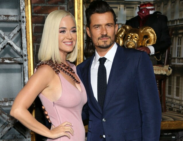 <strong>FORLOVET:</strong> Orlando Bloom er forlovet med den amerikanske artisten Katy Perry, og sammen venter de sitt første barn. FOTO: NTB scanpix