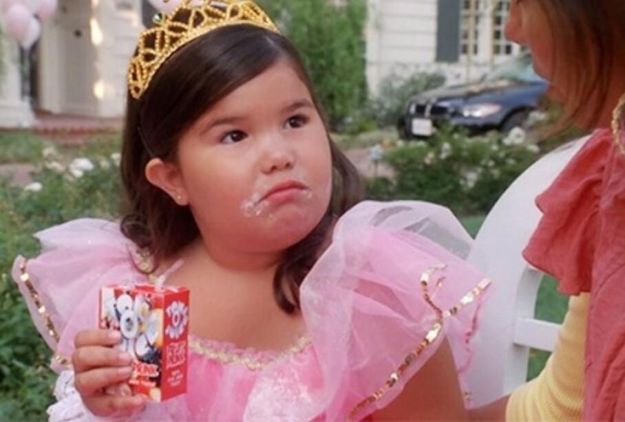 UNG OG LOVENDE: Madison De La Garza i en scene fra TV-serien «Frustrerte Fruer». FOTO: Skjermdump (ABC)