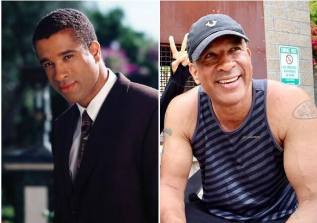 Dorian Gregory i 1999 til venstre, i 2020 til høyre. FOTO: Warner Bros./Instagram