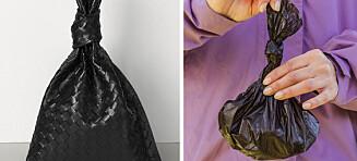 Sammenligner designerveske med søppelpose