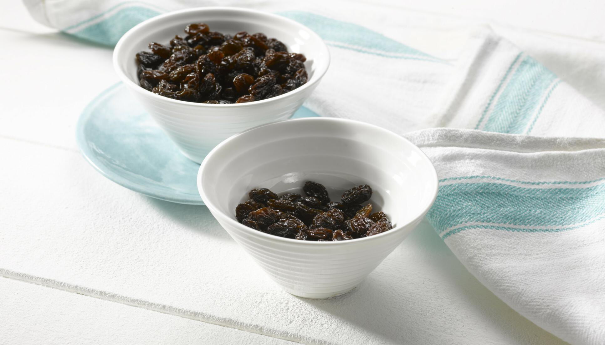 California Raisins er den perfekte snacksen etter trening
