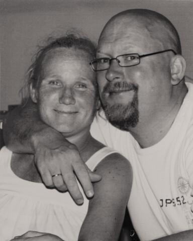 KJERNEFAMILIE: Jan er ektemann og assistent og faren til hans og Vildes barn. FOTO: Privat